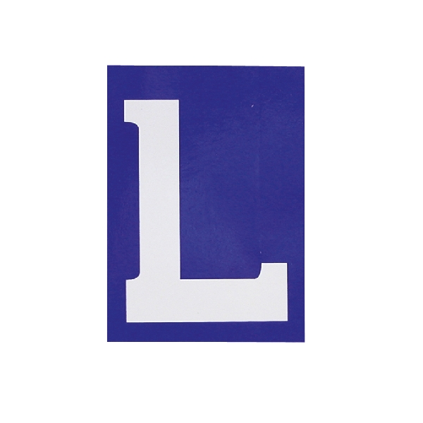 Carpoint Sticker 'L' 16010